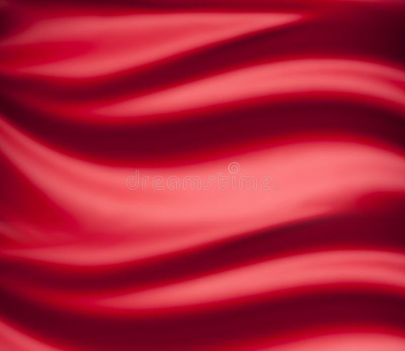 红色迷离圣诞节背景 库存图片