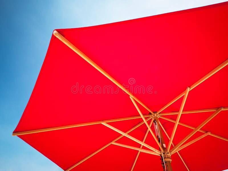 红色遮光罩 库存照片