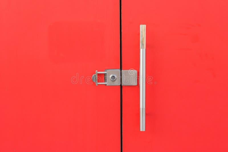 红色门 免版税库存图片