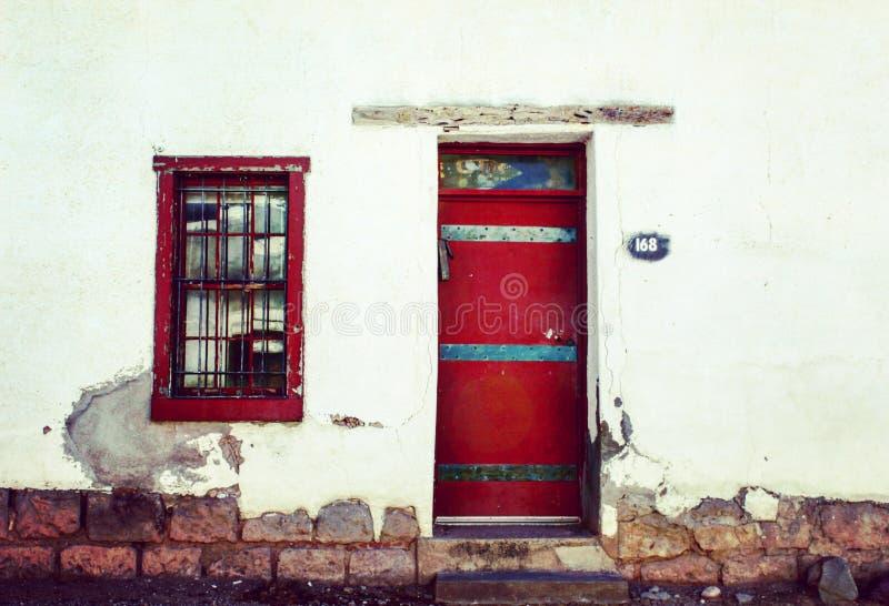 红色门 图库摄影