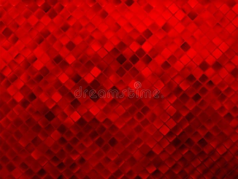 红色闪烁背景。 EPS 8 向量例证