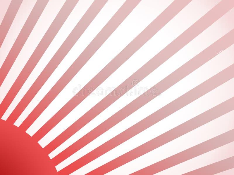 红色阳光 免版税库存图片