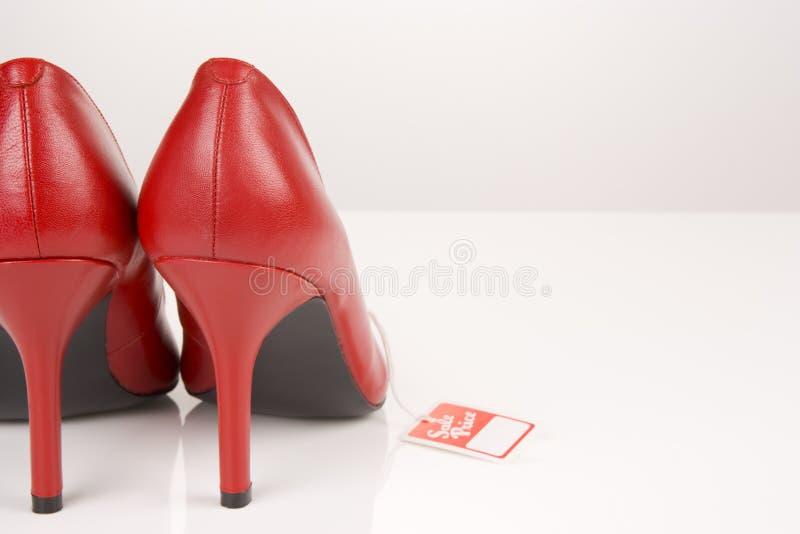红色鞋子 免版税库存图片