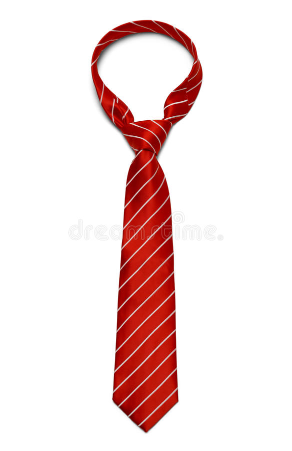 红色领带 库存图片