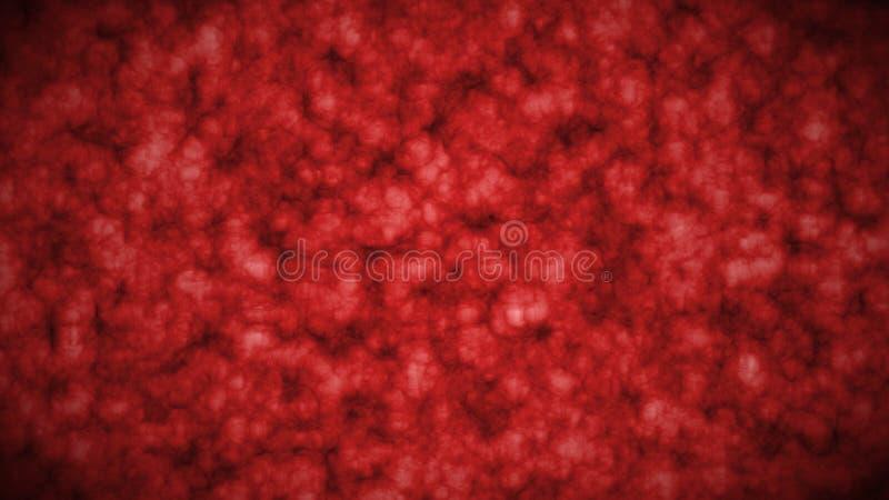 红色颜色抽象第2个艺术动画片断  皇族释放例证