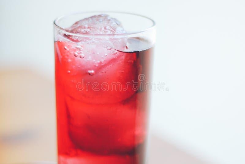 红色饮料 免版税库存照片