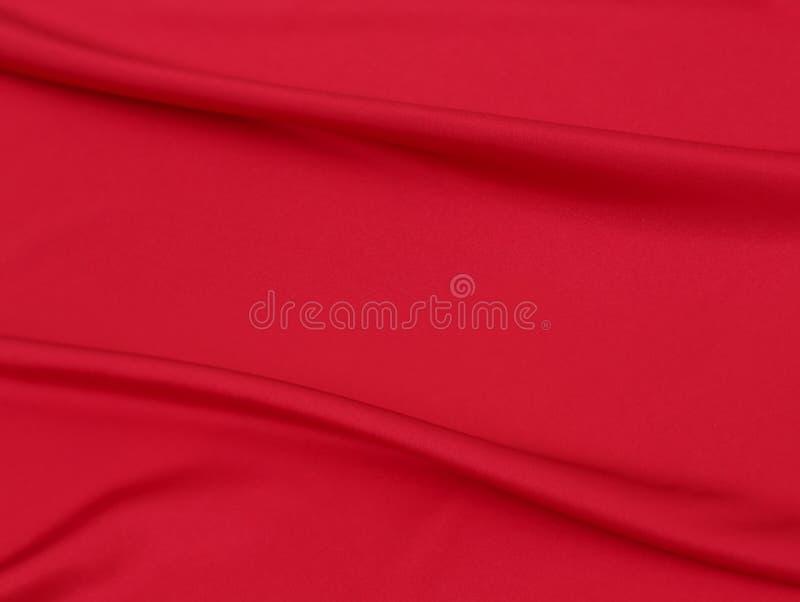 红色织品纹理帆布背景  库存照片