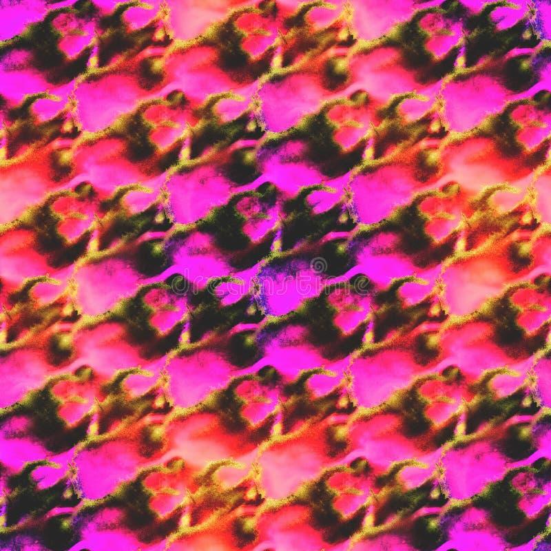 红色织地不很细样式调色板的图片,紫色框架 皇族释放例证
