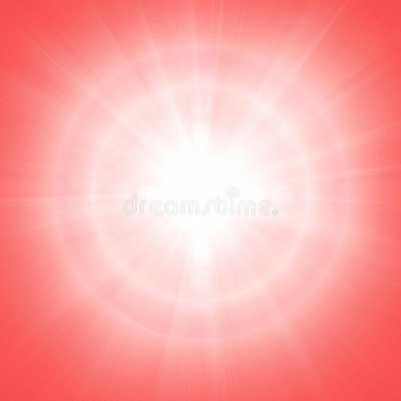 红色晴朗的背景 库存图片