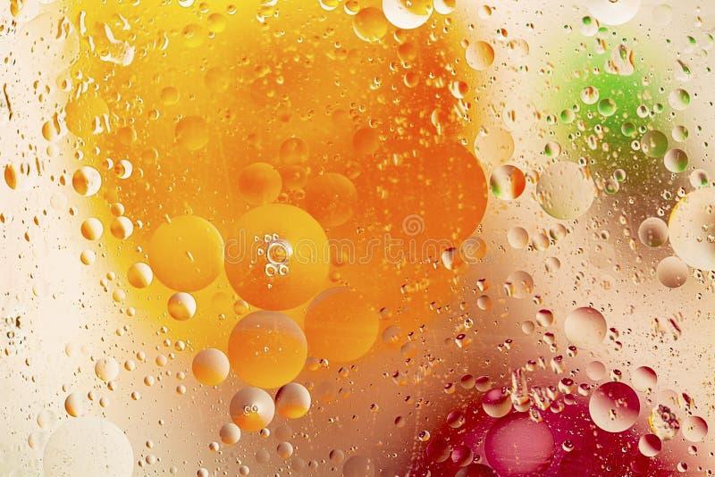 红色/橙黄色/绿色五颜六色的抽象设计/纹理 美好的背景 免版税库存图片