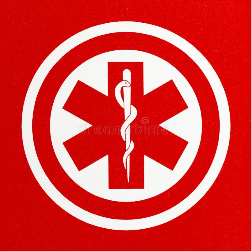 红色医疗符号 图库摄影