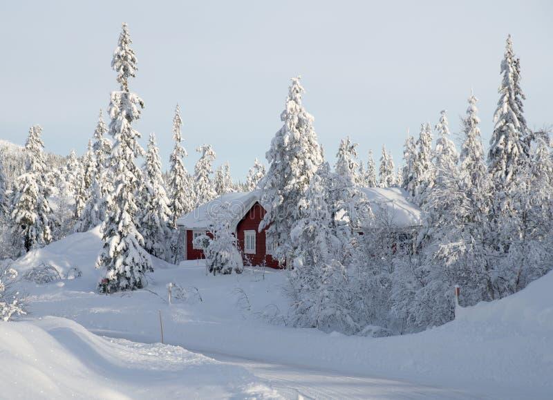 私有滑雪旅馆 免版税图库摄影