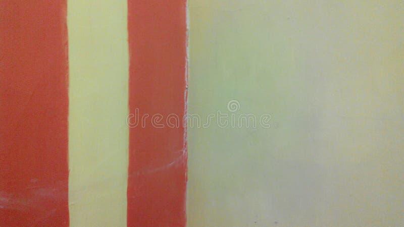 红色N黄色 免版税库存图片