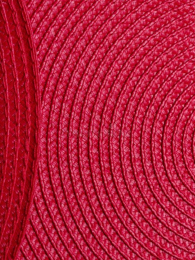 红色placemats 免版税图库摄影