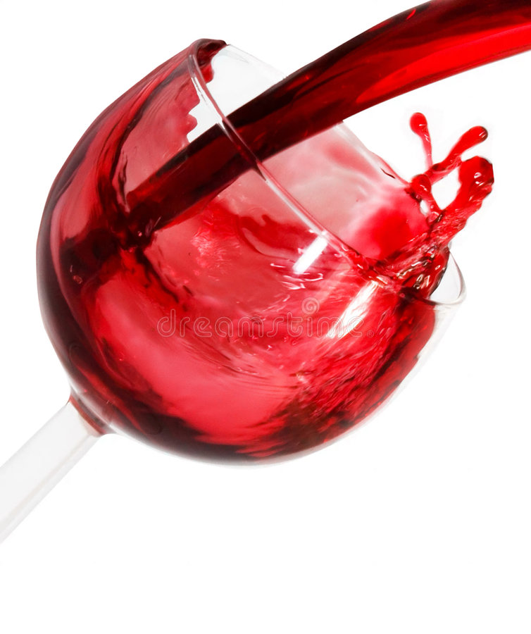 红色wine2 免版税库存照片