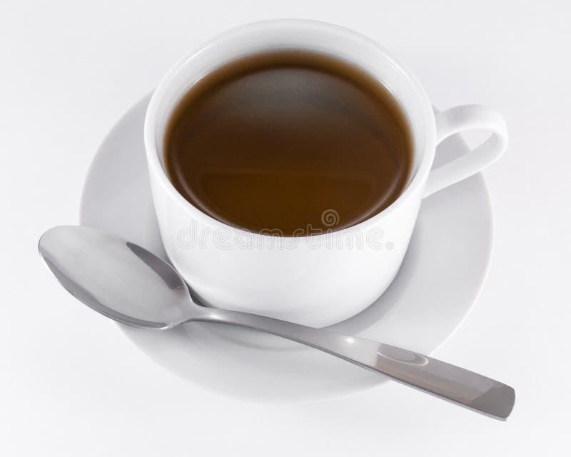 红茶杯子 免版税库存照片