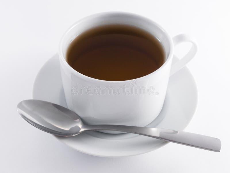 红茶杯子 免版税库存图片