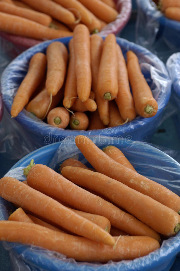 红萝卜市场 免版税库存图片