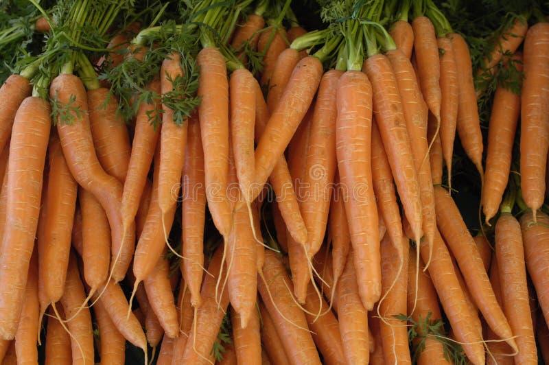 红萝卜市场 库存照片