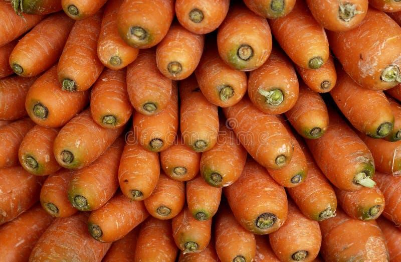红萝卜市场 库存图片