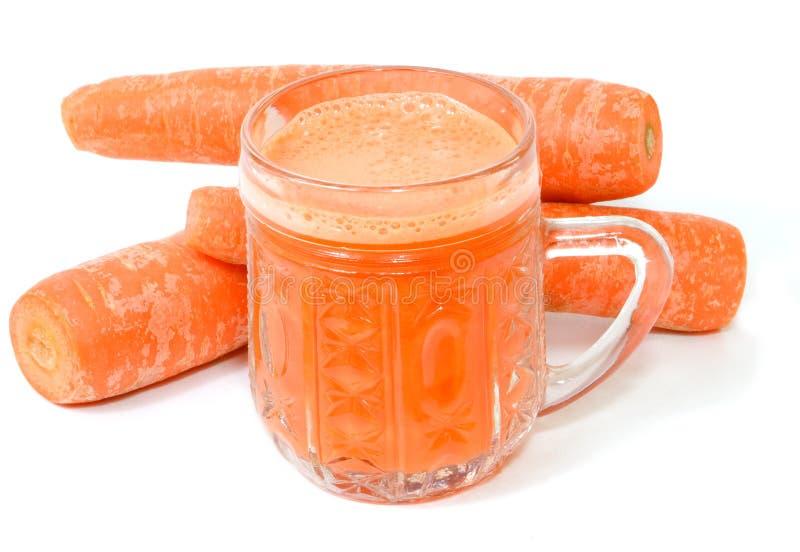 红萝卜汁 库存照片
