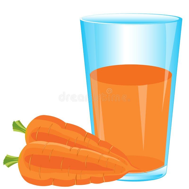 从红萝卜的汁液 皇族释放例证