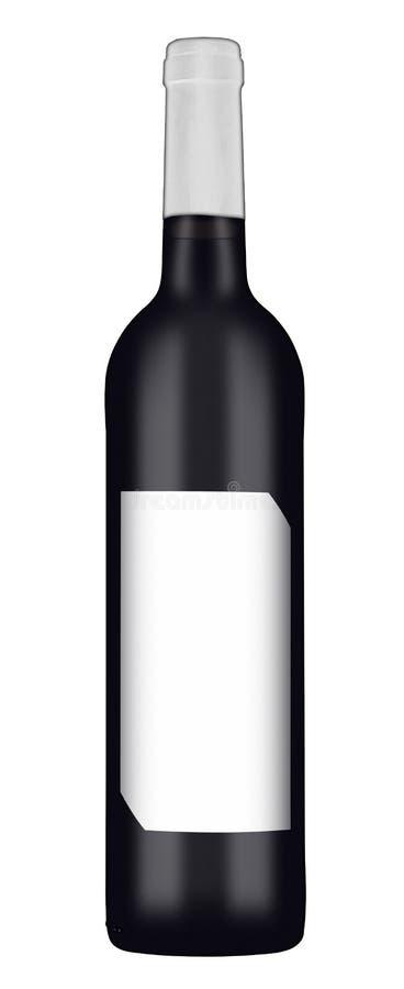 红葡萄酒瓶2 库存图片