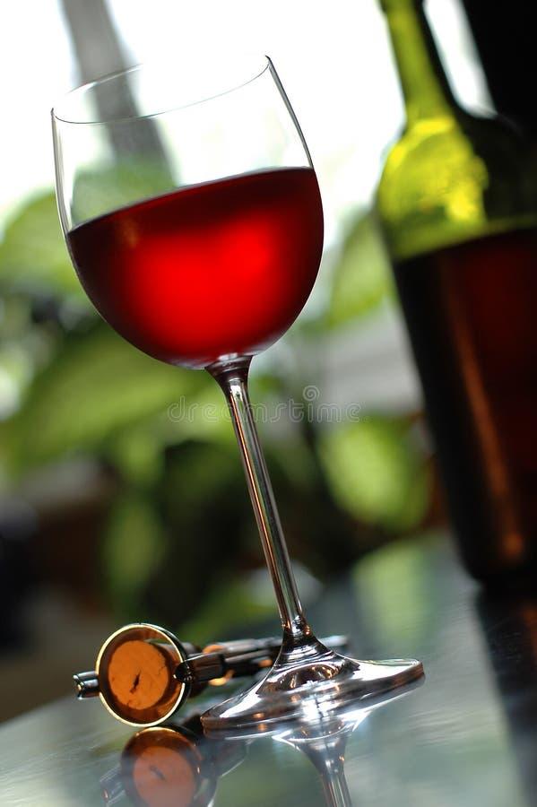 红葡萄酒 库存图片