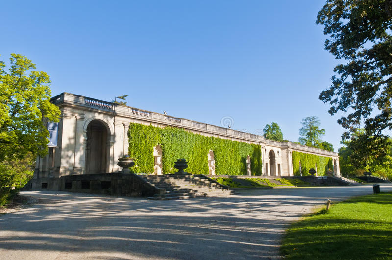 红葡萄酒botanique法国jardin 免版税库存图片
