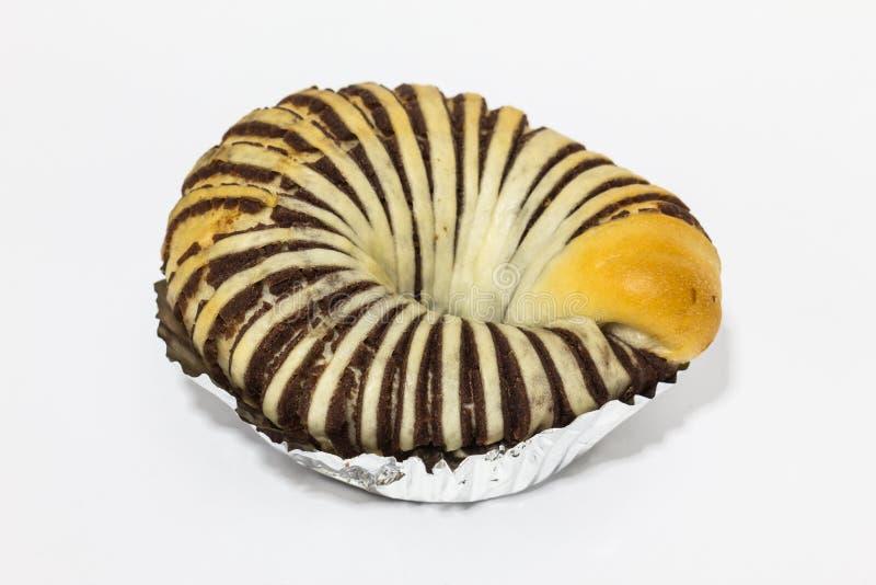 红豆小圆面包 免版税库存图片