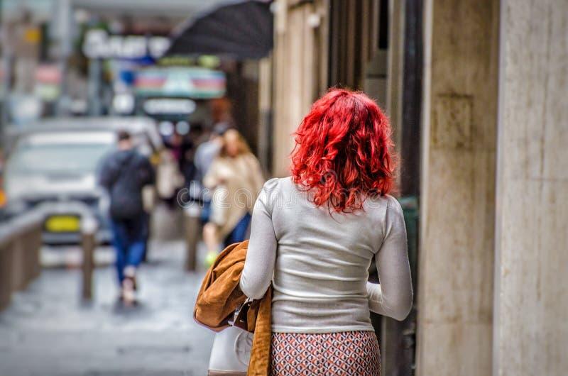 红头发人 免版税库存照片