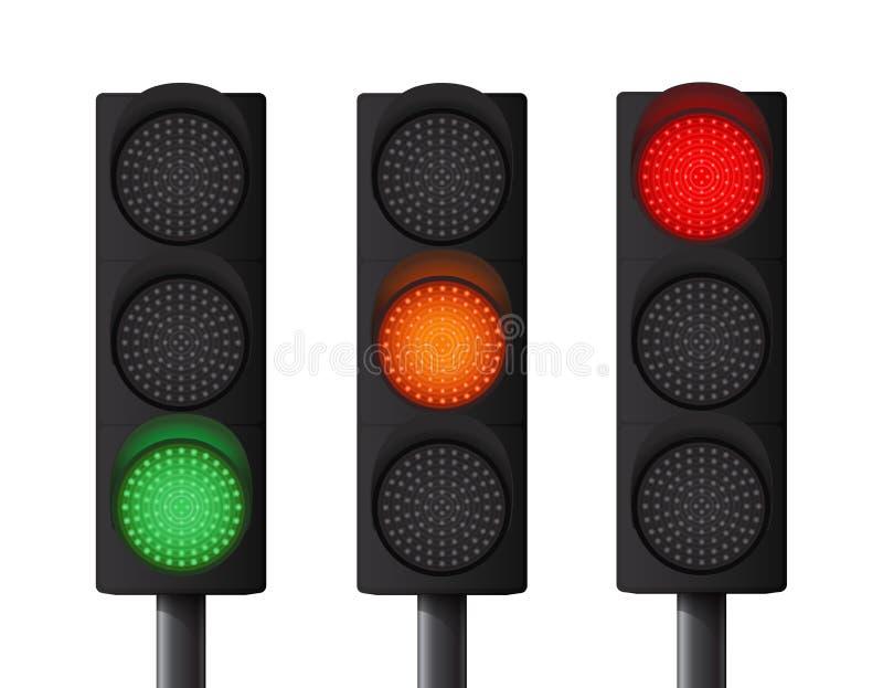 红绿灯 库存图片