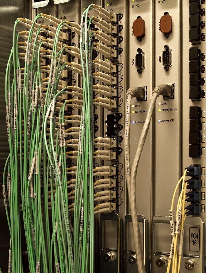 纤维光学 库存照片