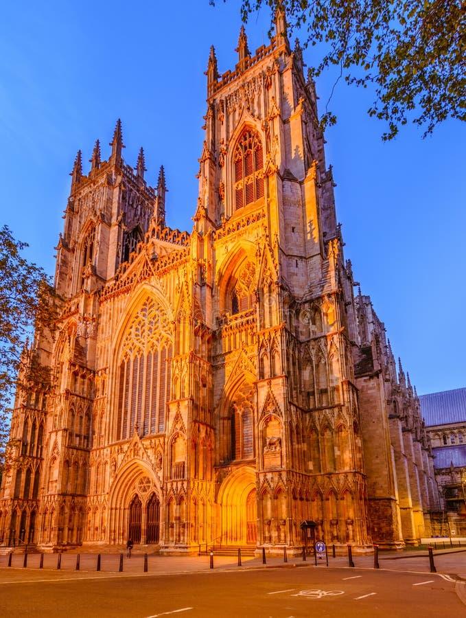 约克大教堂,英国,英国 库存照片