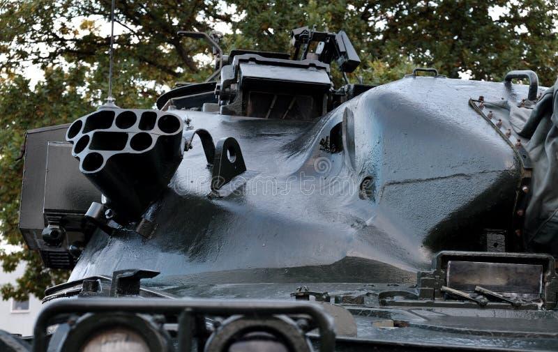 约克郡航空博物馆,Elvington,英国约克21/10/2019 FV 4201酋长队是英国的主战坦克 免版税库存图片