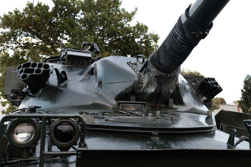 约克郡航空博物馆,Elvington,英国约克21/10/2019 FV 4201酋长队是英国的主战坦克 库存图片