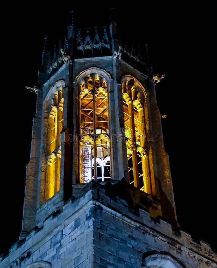 约克-圣海伦的教会 免版税库存照片