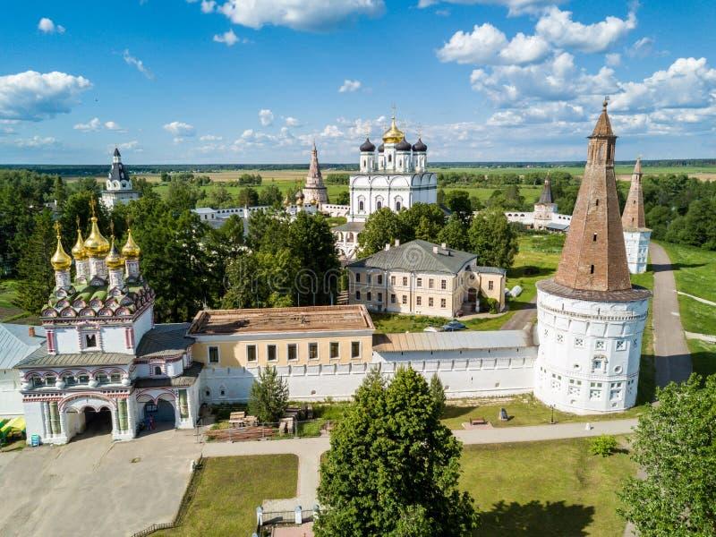 约瑟夫沃洛科拉姆斯克lavra或Josepho-Volotsky修道院,克里姆林宫,在沃洛科拉姆斯克附近,莫斯科,俄罗斯 E 库存照片
