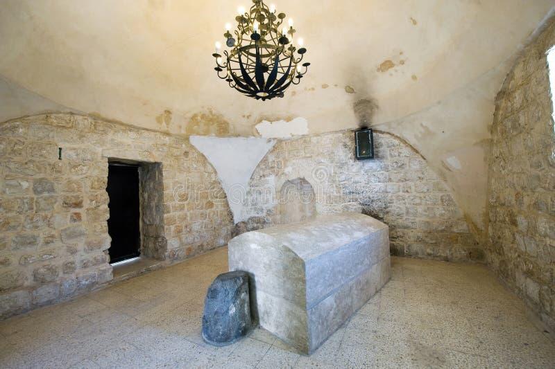 约瑟夫的坟茔在纳布卢斯 免版税图库摄影