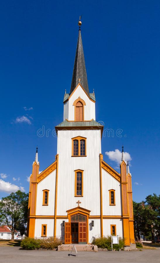 约维克教会奥普兰郡挪威 免版税图库摄影