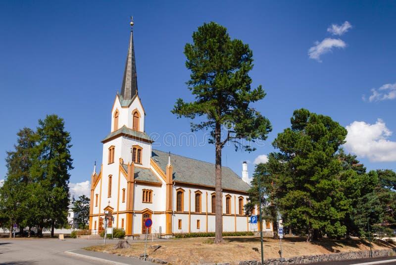 约维克教会奥普兰郡挪威 免版税库存图片
