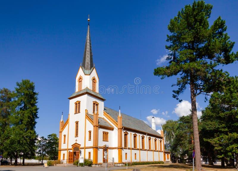 约维克教会奥普兰郡挪威 库存照片