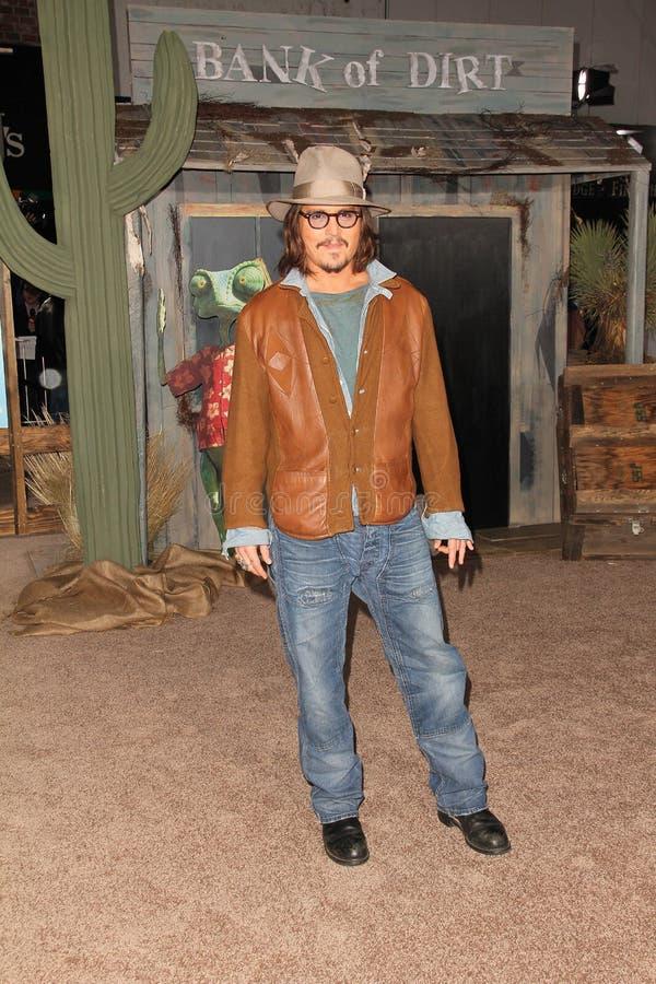 约翰尼Depp 库存照片