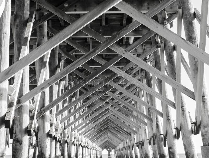 约翰斯海岛码头 免版税图库摄影