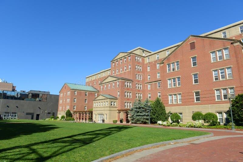 约翰逊&威尔士大学,上帝, RI,美国 库存图片