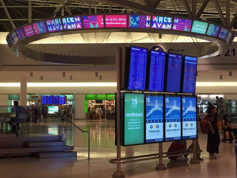 约翰・肯尼迪机场在纽约 免版税库存照片