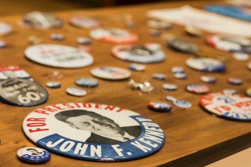 约翰・肯尼迪总统图书馆 库存图片