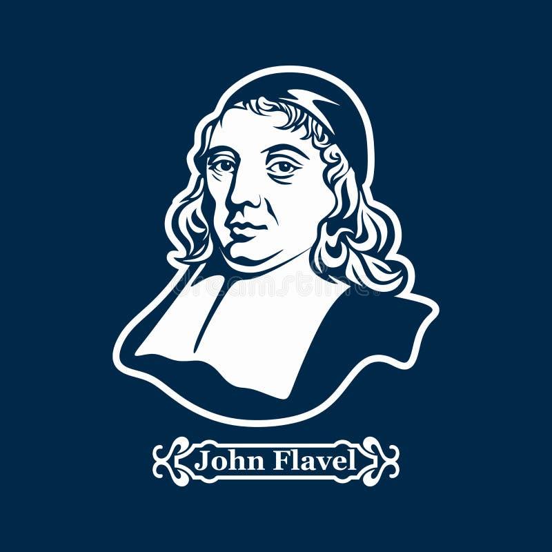 约翰Flavel 新教 欧洲改革的领导 库存例证