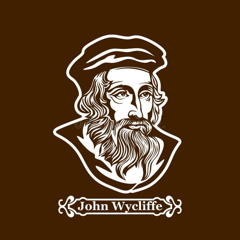 约翰wycliffe 新教 欧洲改革的领导 皇族释放例证