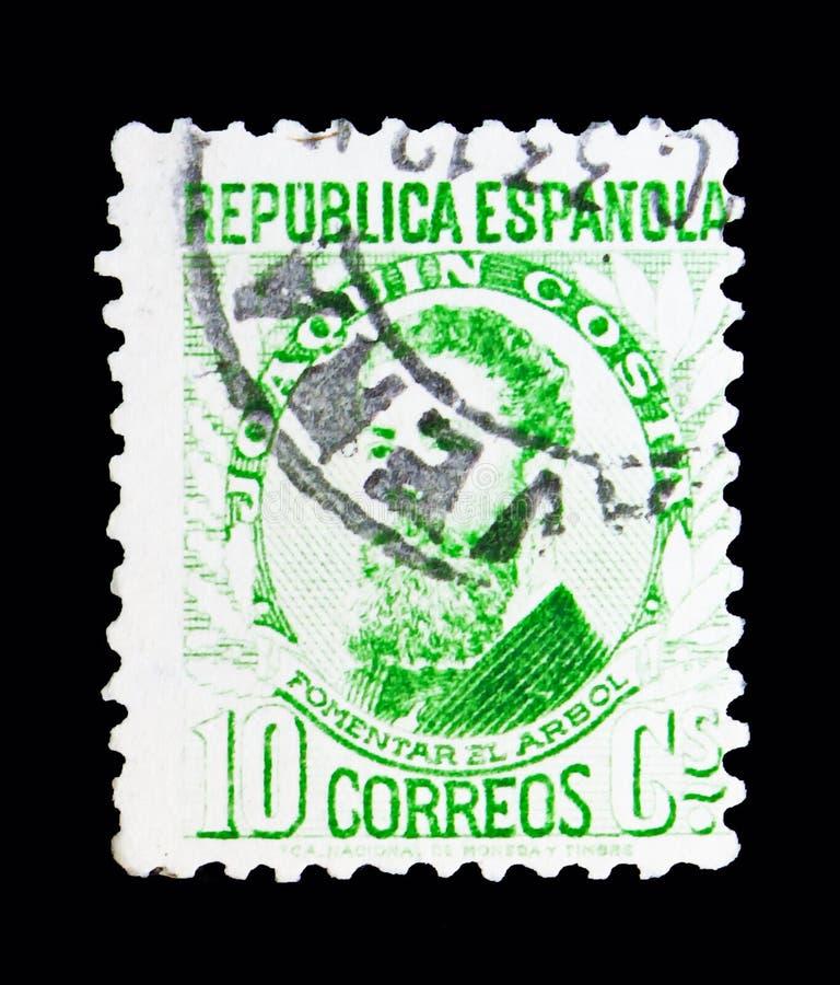 约阿奎恩肋前缘y马丁内斯,著名人serie,大约1932年 皇族释放例证